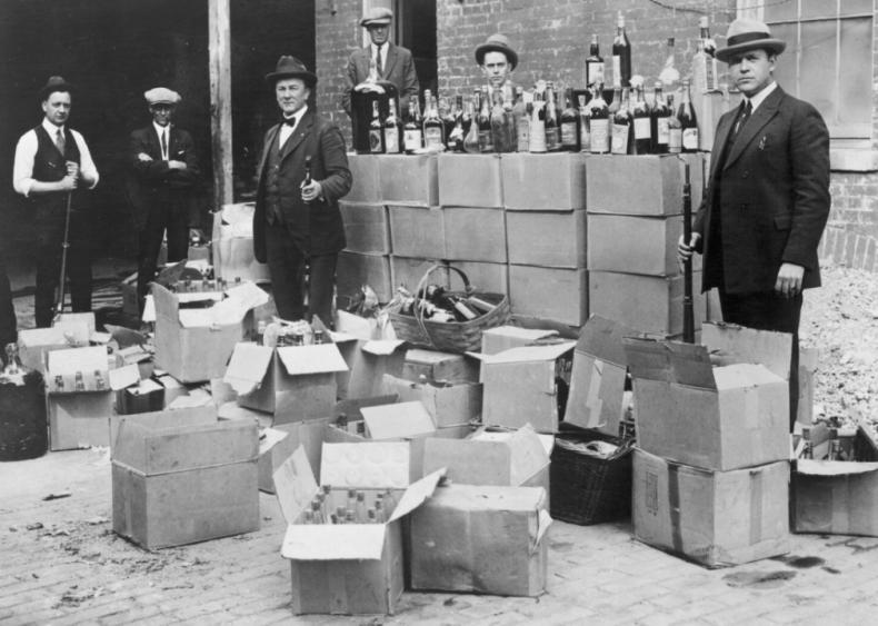Bootleggers, speakeasies and organized crime
