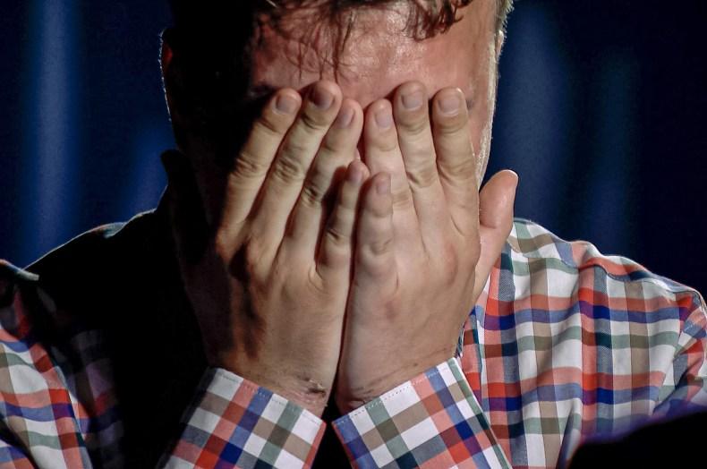 Journalist Raman Pratasevich Weeps on TV
