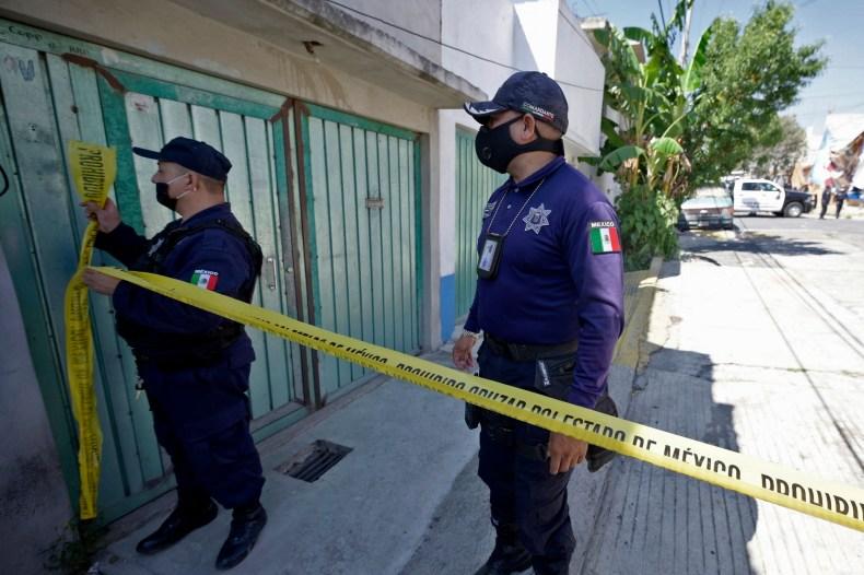 Mexico serial killer bone fragments found