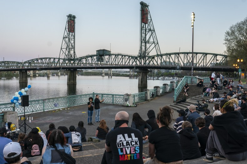 BLM protest Portland