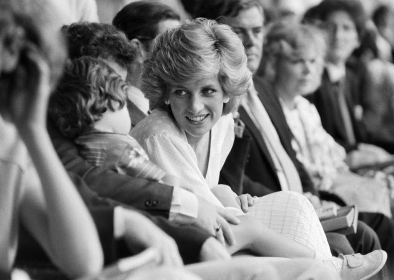 Friendship with Princess Diana?