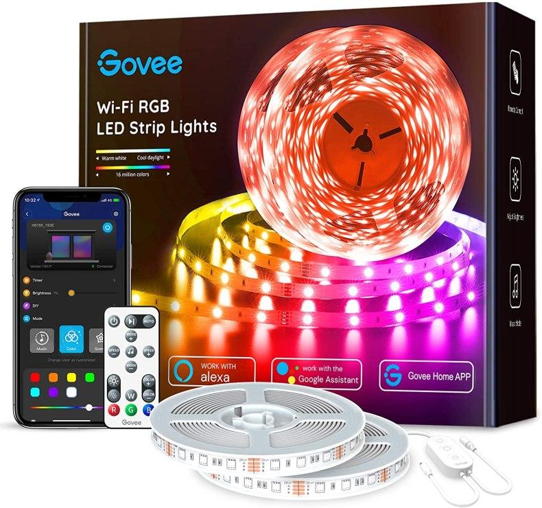 Govee Wi-Fi RGB LED Strip Lights