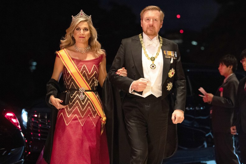 Willem Alexander and Queen Maxima of Holland