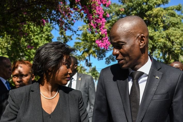 Haitian President and First Lady
