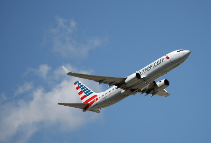 american airlines fight
