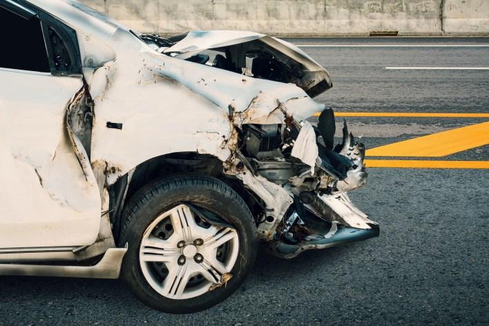File photo of a car crash.