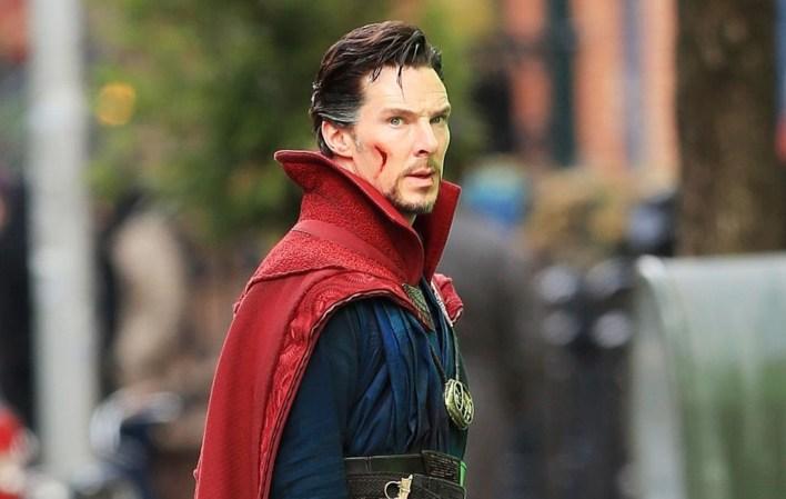 Benedict Cumberbatch in Doctor Strange