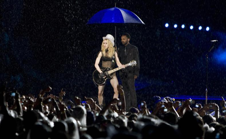 Madonna at Maracana Stadium