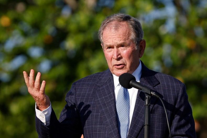 George W. Bush 9/11 anniversary MAGA Trump