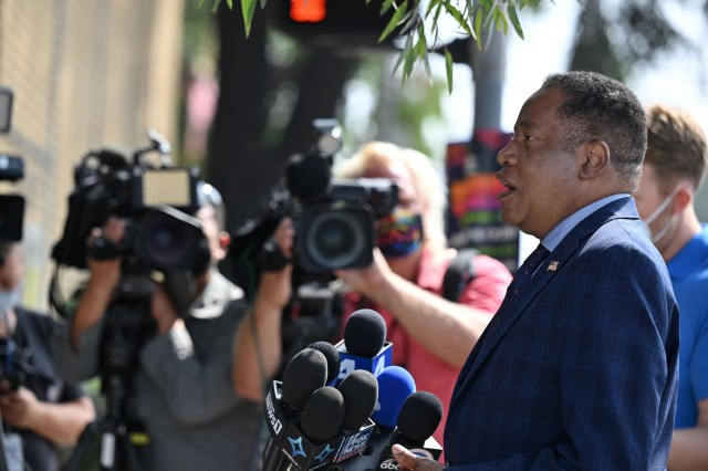 California Recall Election Larry Elder Gavin Newsom