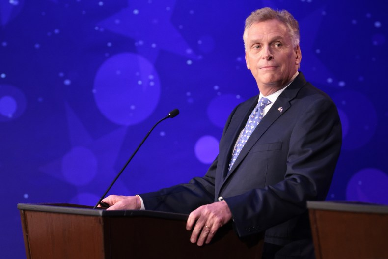 Terry McAuliffe Frustrated With D.C. Dems