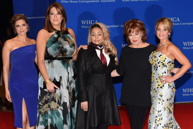 """""""The View"""" cast in 2016"""