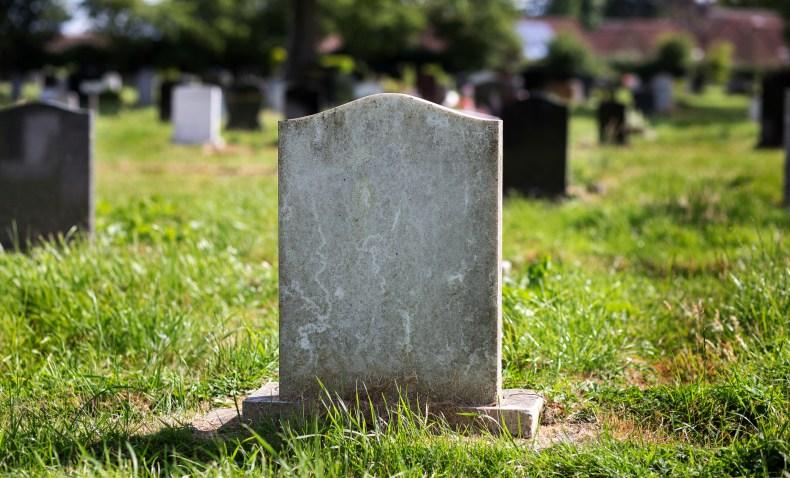 TikTok gravestone