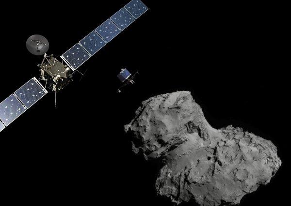 Watch the Rosetta Mission's Historic Comet Landing