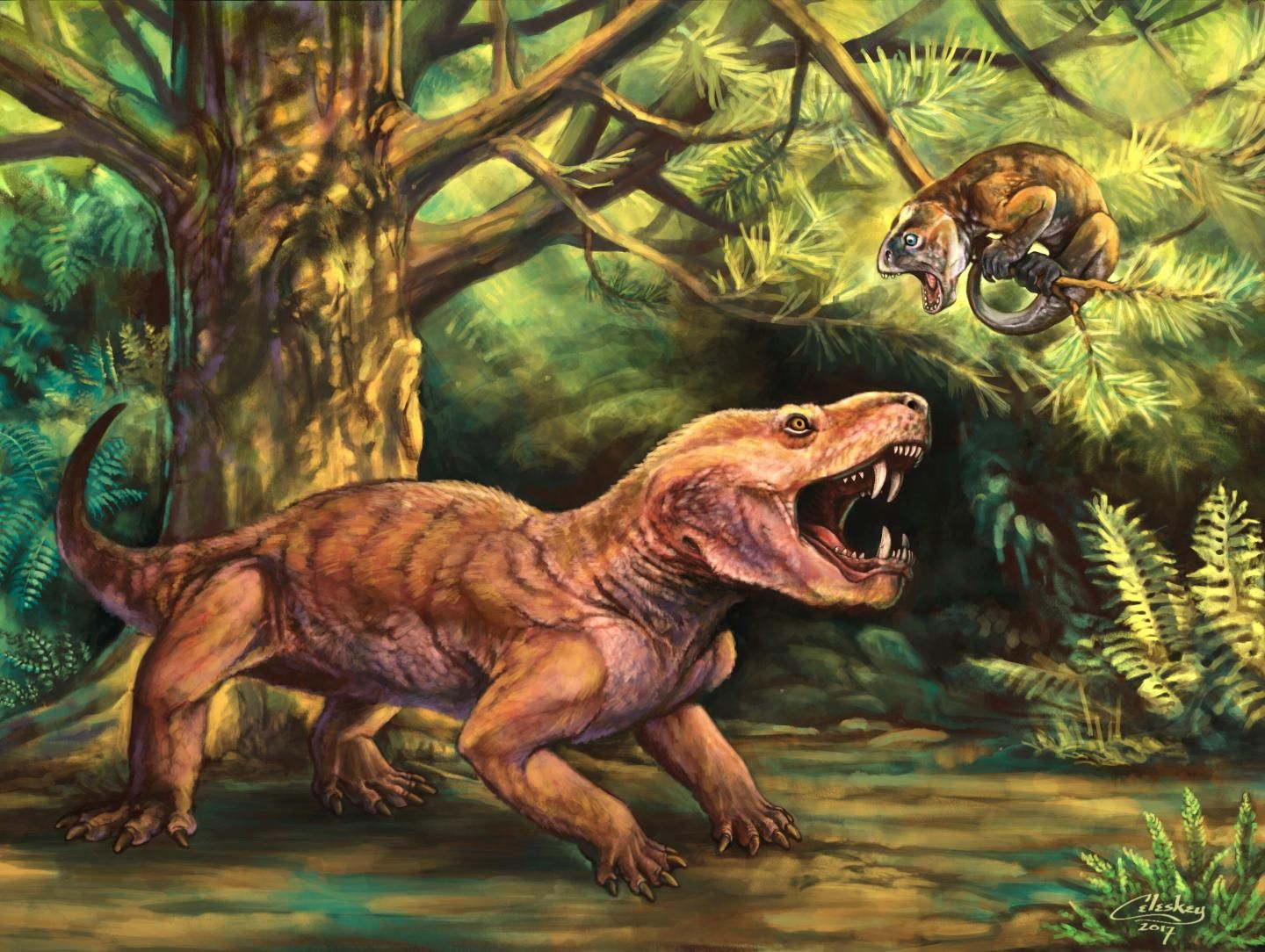 Two New Species Of Fearsome Saber Toothed Prehistoric