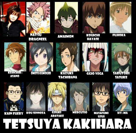 Seiyuu - Tetsuya Kakihara - Page 1 - Wattpad