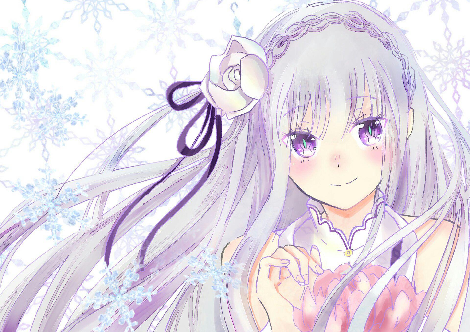 Yuri Oneshots (Girl X Girl) - Emilia x fem! reader (Re:zero) - Wattpad