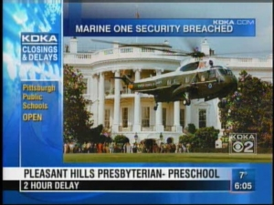 Butler Co. Firm Finds Marine One Security Breach
