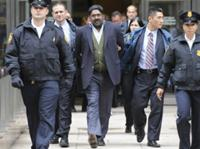 AP - Raj Rajaratnam, billionaire founder of the Galleon Group, a major hedge fund, is led in handcuffs from FBI ...