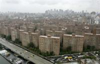 AP - FILE - The Peter Cooper Village and Stuyvesant Town apartment complex is seen in New York in this ...
