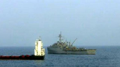 U.S. Marines Free Ship From Pirate Control