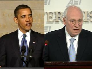 Cheney vs. Obama