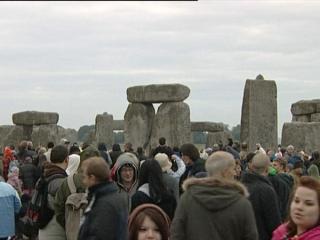 UK: Summer solstice at Stonehenge
