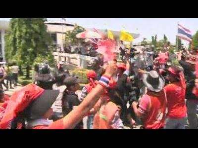 Thai protesters storm parliament