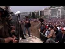 Police clash with protesters in Athens