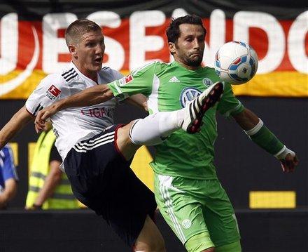 FC Bayern-Muenchen - Wolfsburg am Samstag