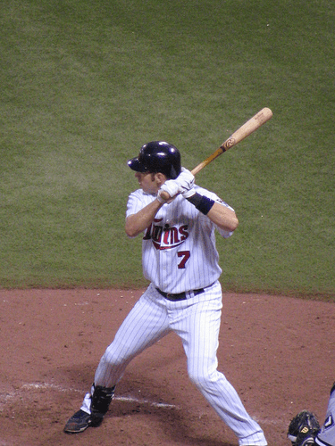 Joe Mauer batting