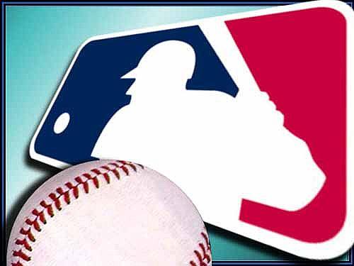 mlb logo baseball