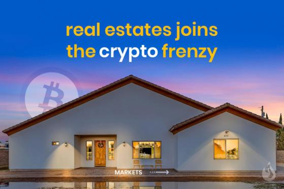 Real Estate Catches Onto The Crypto Craze As People Buy Homes With Bitcoin