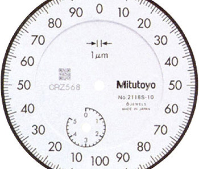 Normal Mode Dial Indicator Scale Load 0 001mm