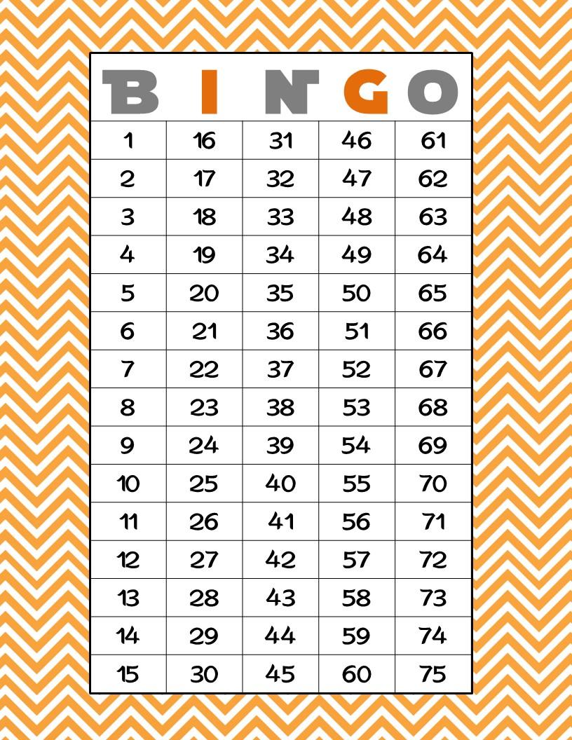 1 Free Printable 60 Numbers