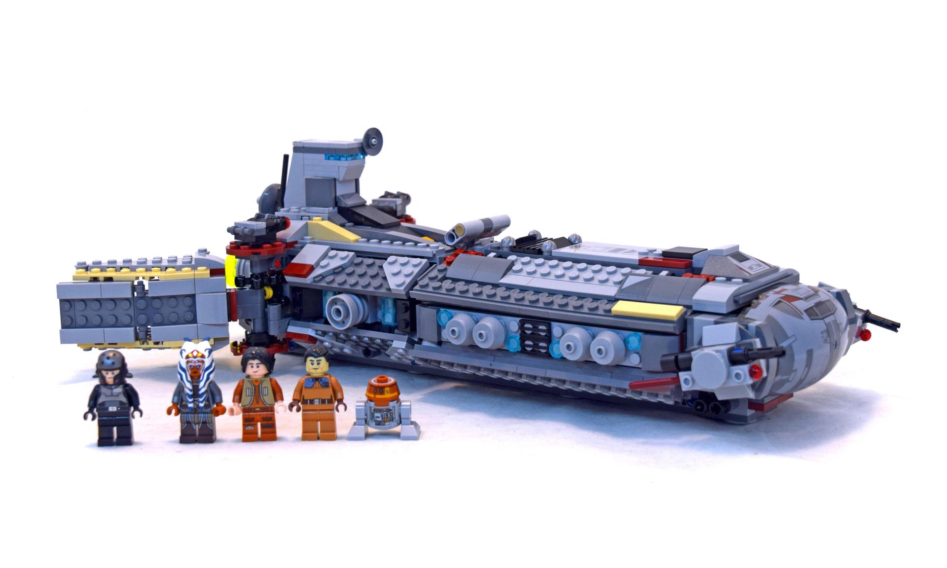 Lego 75158 Rebel Combat Frigate Set Parts Inventory And