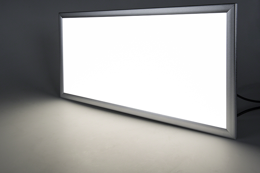 12V LED Panel Light 1x2 3000 Lumens 40W Even Glow