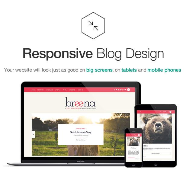 Breena - A Responsive WordPress Blog Theme - 5