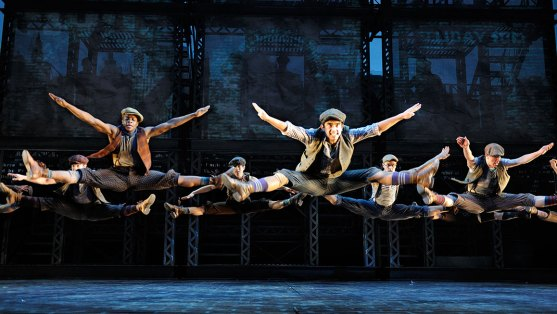 Image result for Newsies Broadway Musical