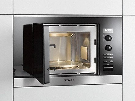 miele pureline series built in microwave oven clean touch steel m6260tcss