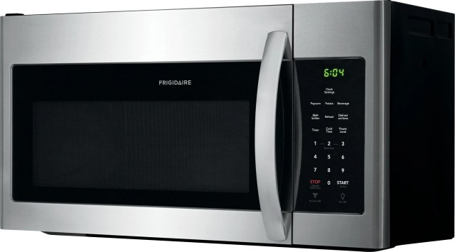 frigidaire 1 6 cu ft stainless steel over the range microwave ffmv1645ts