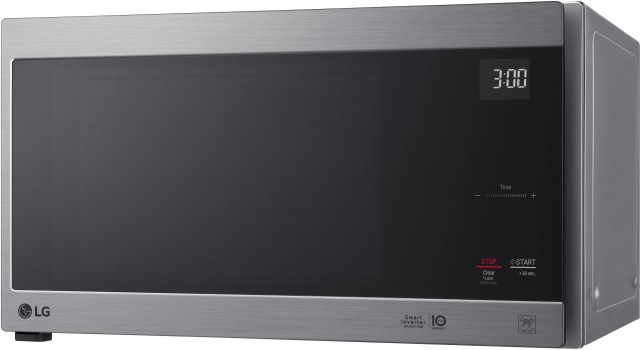 lg neochef 1 5 cu ft stainless steel countertop microwave lmc1575st