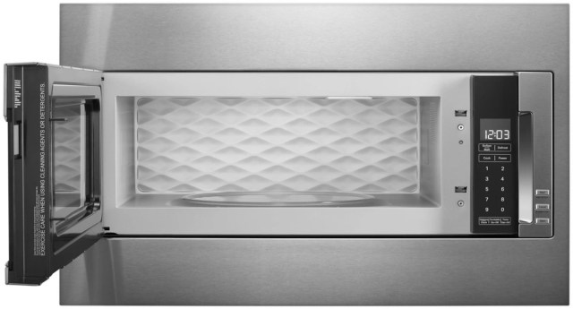 kitchenaid 29 75 stainless steel built in microwave with trim kit kmbt5511kss