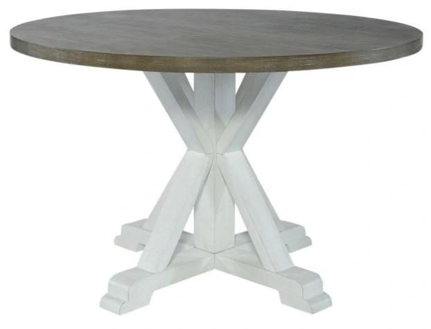 liberty furniture lakeshore white table