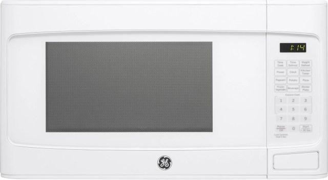 ge countertop microwave oven white jes1145dlww