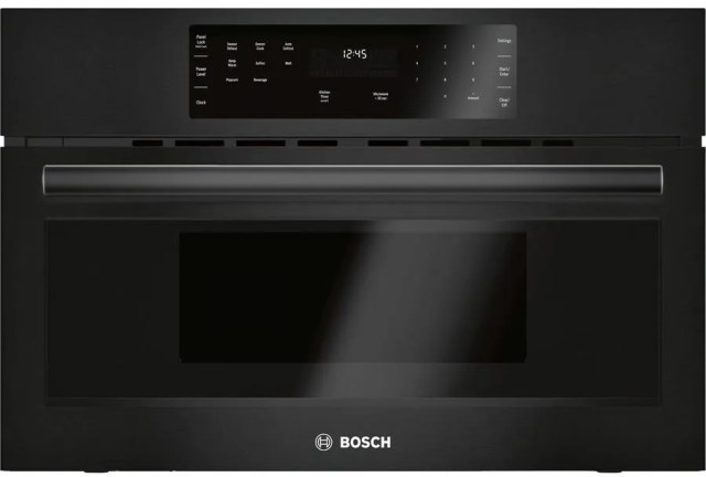bosch 500 series built in microwave oven black hmb50162uc