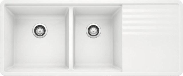 https www home101appliances com product blanco precis white undermount double bowl kitchen sink 440410 493182