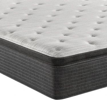 beautyrest silver aware plush pillow top queen mattress 700810108 1050