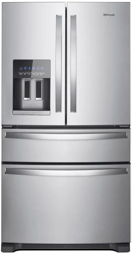 Whirlpool® 25 Cu. Ft. French Door Refrigerator-Fingerprint Resistant  Stainless Steel-WRX735SDHZ | Southeastern Appliances