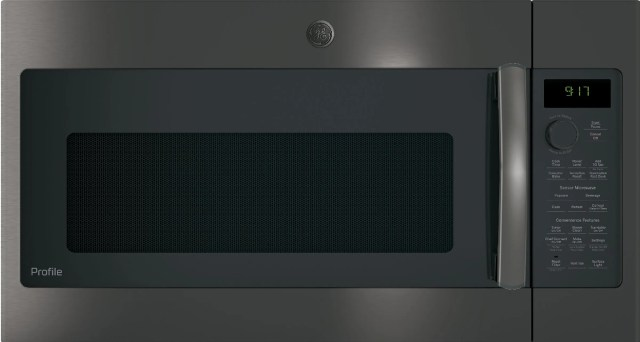 ge profile 39 88 black stainless steel over the range microwave pvm9179blts